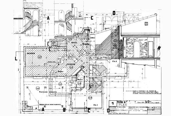 Maison d 39 architecte 8 - Plan de maison luxueuse ...